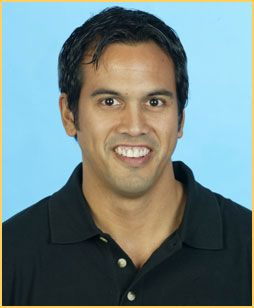 Erik Spoelstra is head coach of the NBA's Miami Heat. His mother is from the Philippines.