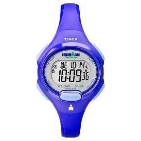 Women's Timex Ironman® Essential 10 Lap Digital Watch - Blue