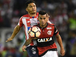 Blog Esportivo do Suíço:  Vizeu marca dois, César defende pênalti e Flamengo está na final da Sul-Americana