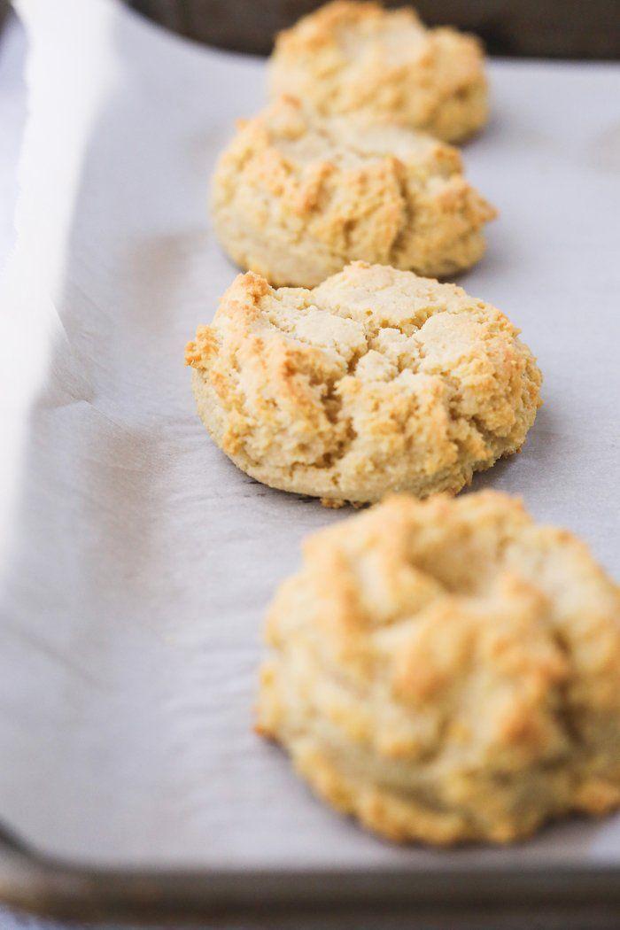 Keto Buttermilk Biscuits Dairy Free Gluten Free Stem Spoon Recipe In 2020 Dairy Free Biscuits Buttermilk Recipes Buttermilk Biscuits