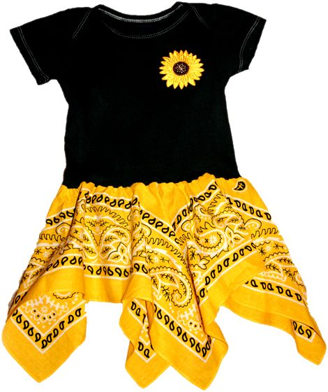 Bandana Dress....if i ever have a girl, I will need to learn to make this!!!!