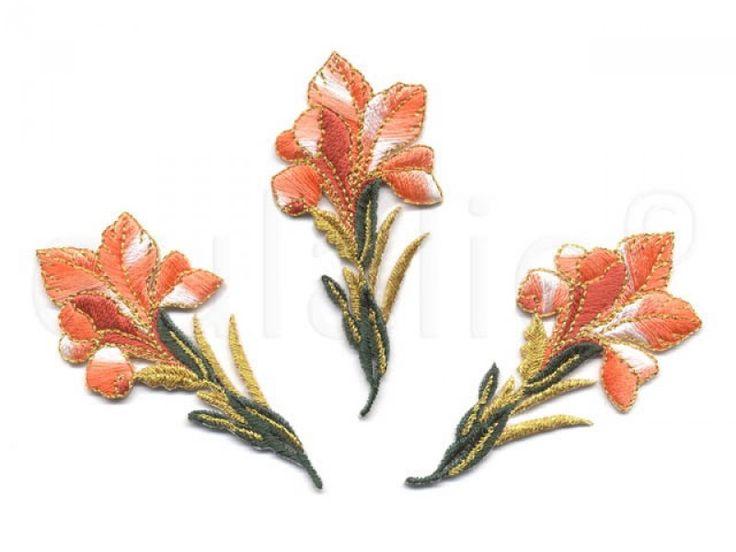 bloem applicatie oranje