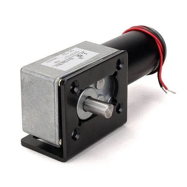 GW31ZY Worm Reducer Gear DC Motor High Torque Low Speed Gear Motor