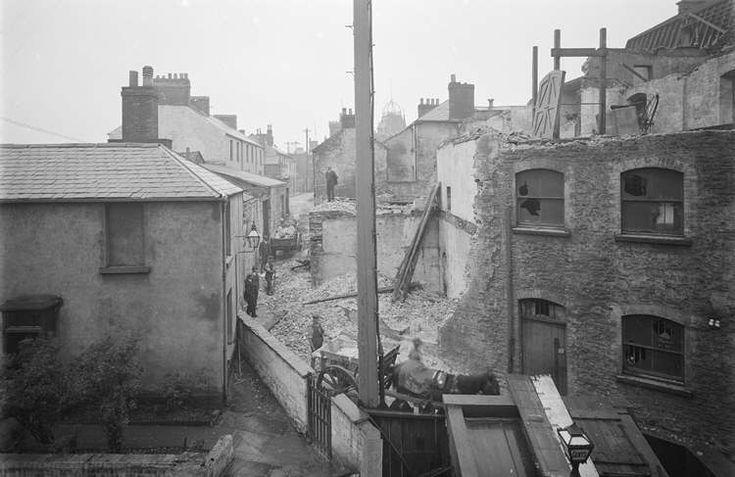 Castle Street / Worcester Place, Swansea, 1920s