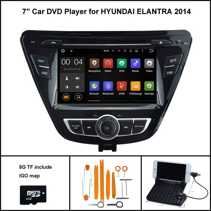 Android 5.1 Quad Core CAR DVD Player for HYUNDAI NEW ELANTRA AVANTE 2014-2015 1024X600 SCREEN WIFI/3G+DSP+RDS+16GB flash