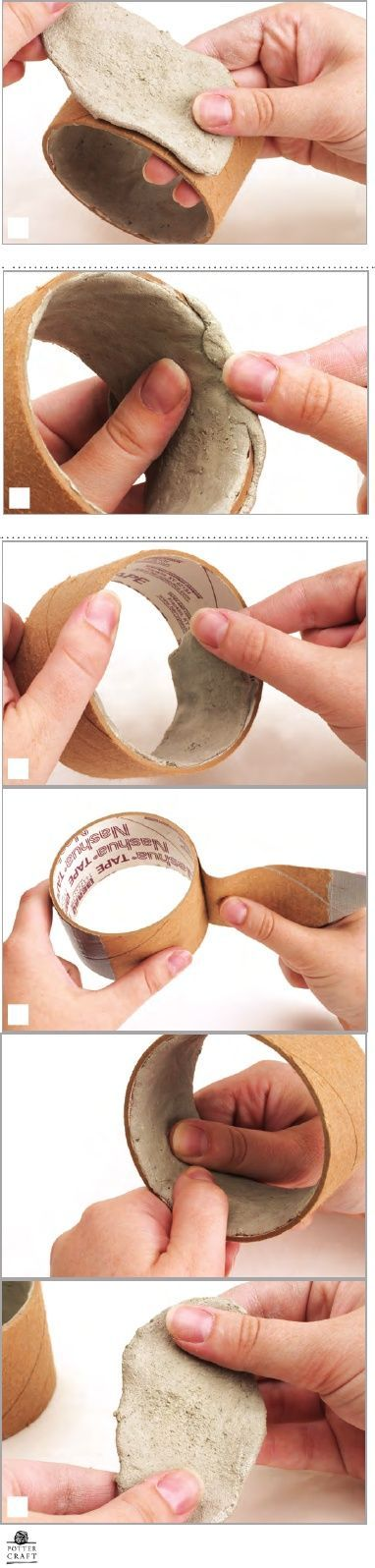 How to make polymer clay bracelet