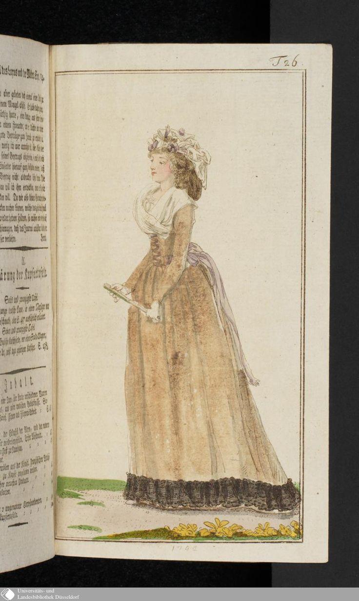 Journal des Luxus und der Moden: October, 1794.