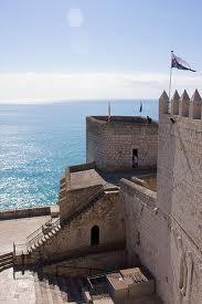 Peñiscola castle. Spain