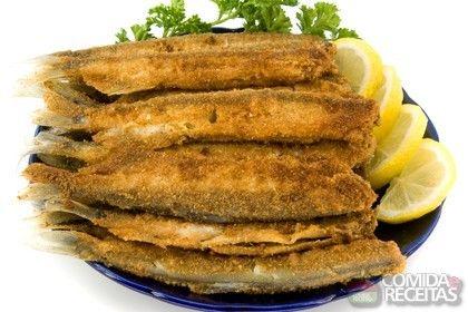 Receita de Sardinha frita em receitas de peixes, veja essa e outras receitas aqui!