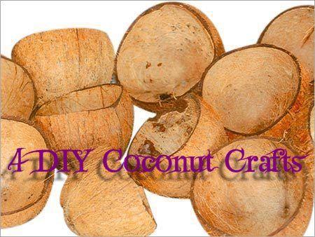 4 DIY Coconut Craft Ideas