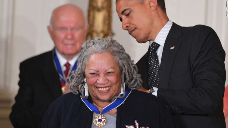 """Toni Morrison was the first African-American woman to win the Nobel Prize.  Among her most famous works are """"Song of Solomon"""", """"Jazz"""" and """"Beloved""""."""