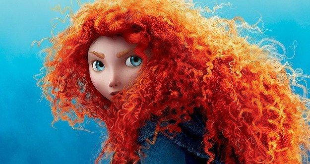 Merida (voiced by Kelly Macdonald) from Brave | 14 Ficitional Women Who Prove Having Curly Hair Is Totally Badass