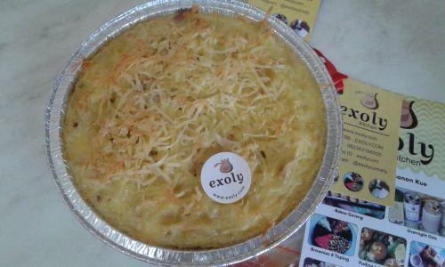 Makaroni Skotel Sosis Ayam & Smoke Beef Mangkuk 17 cm