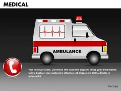 Medical Ambulance PowerPoint Templates Editable Ppt Slides