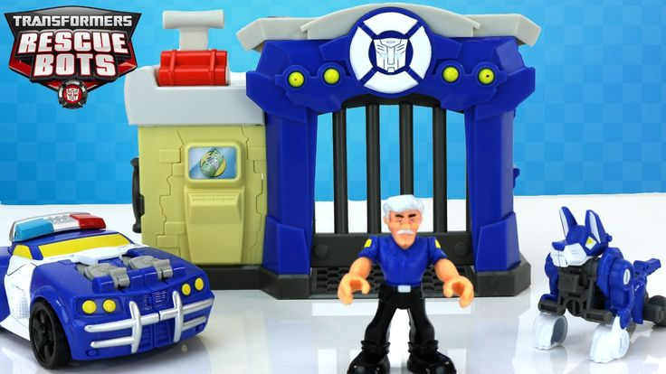 Today we check out the New 2016 Transformers Rescue Bots Griffin Rock Police Station that includes Chief Charlie Burns and Growl who transforms from a police dog to a motorcycle! We also get a visit from Chase The Police Bot!  We have a LOT of cool Transformers videos coming soon so be sure to keep an eye out for them!  Subscribe To Us - http://www.youtube.com/user/disneytoybox?sub_confirmation=1  Don't forget we are still playing our finding R2D2 game so let us know where you find him in…