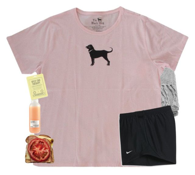 """""""Night😘"""" by mac-moses ❤ liked on Polyvore featuring H&M, Davines, Love 21 and NIKE"""