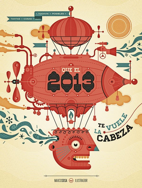 A wish for 2013 by Mauco Sosa, via Behance