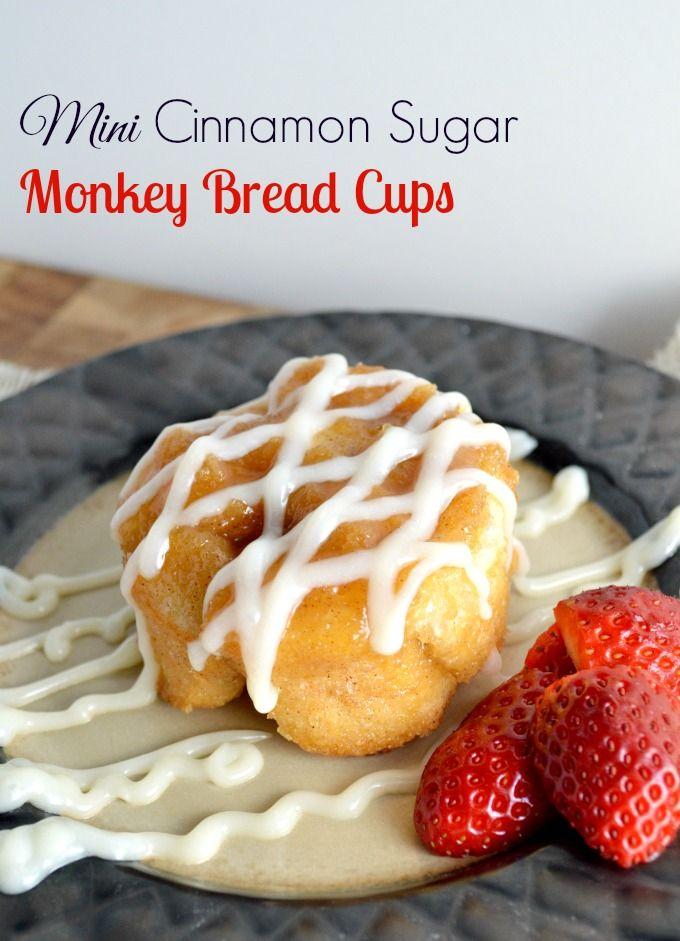 Mini Cinnamon Sugar Monkey Bread