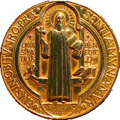 St. Benedict. A very good explanation of St. Benedict medal. Actually you can bury your medal on your property, wear it, put it on your rosary. A very powerful sacramental. Don't forget to get it blessed.