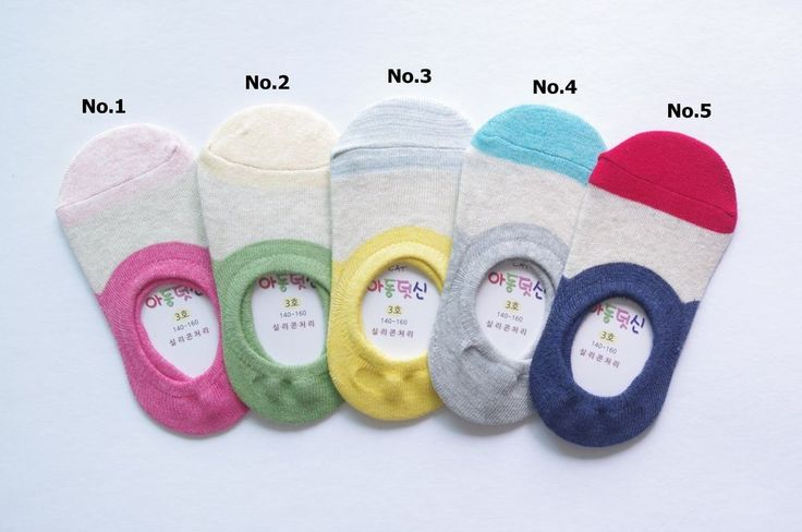 Korean Kids Pastel Color Fake Socks for Kids, Child TS031-1, Made in Korea #CAT #Casual