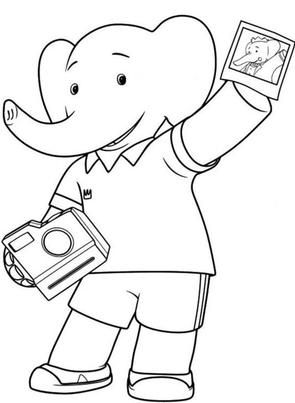 8 best Babar Coloring Pages images on Pinterest Printable coloring - best of halloween coloring pages 3rd grade