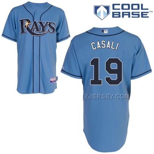 http://www.xjersey.com/rays-19-casali-light-blue-cool-base-jerseys.html RAYS 19 CASALI LIGHT BLUE COOL BASE JERSEYS Only $43.00 , Free Shipping!