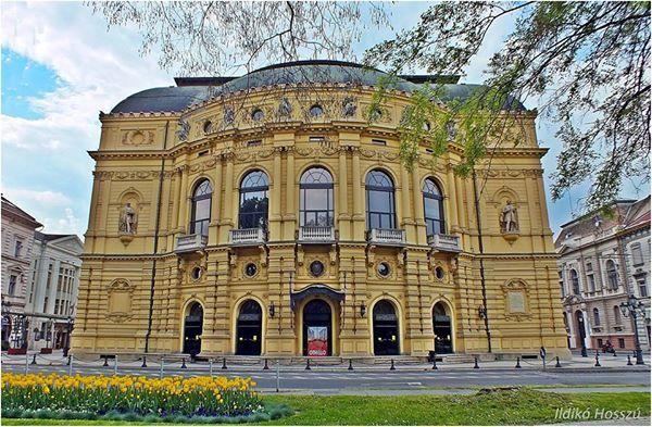 Szegedi Nemzeti Színház. Hungary