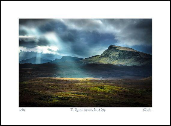 Scotland - Outlander landscape - Macbeth - Extra large wall art - Isle of Skye - Oversized art  - Scottish landscape - Photography