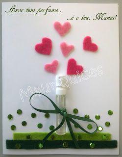 Mauriquices: Amor tem perfume...é o teu, Mamã!