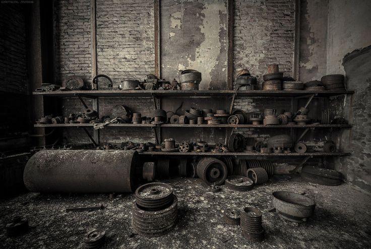 Belgicko a jeho magické, opustené miesta