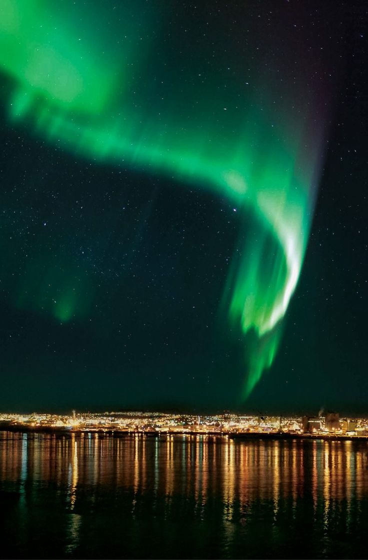 The Northern Lights by Boat Tour offers a unique way to experience the aurora borealis, away from all lights with nothing but the vast ocean ahead.
