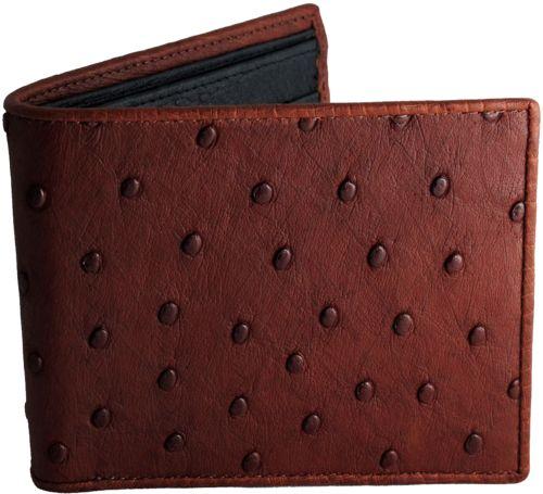 Wallets Ostrich Leather Genuine Ostrich & Ostrich Skin Interior, $219.00 USD  http://www.realmenswallets.com/product/gents-wallets-luxury-ostrich-wallets/
