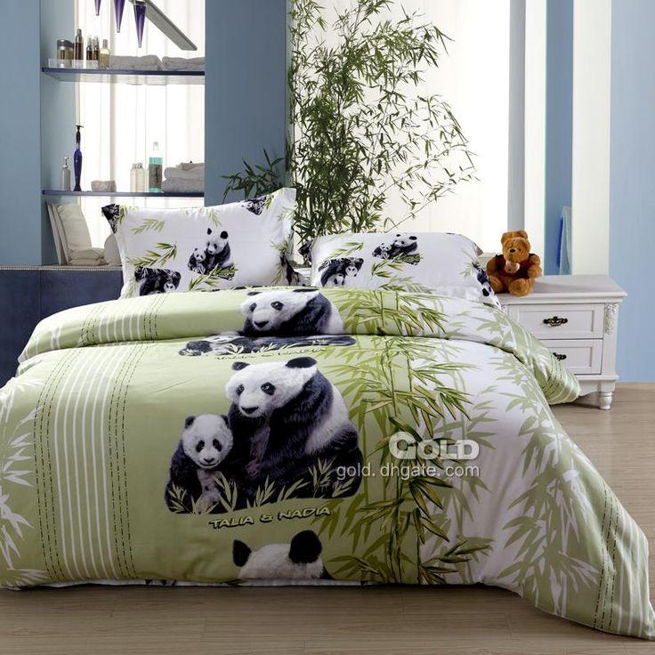 Panda Bedding Wholesale 4pcsset panda