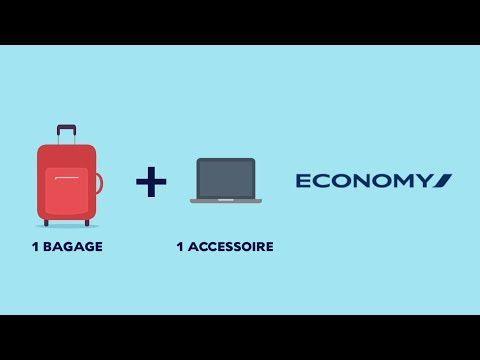 Taille et poids des bagages à main en avion - nombre de bagages en cabine - Air France