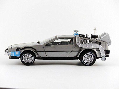 Hot Wheels Volver al Futuro Delorian Maquina del Tiempo (1:18 Scala)