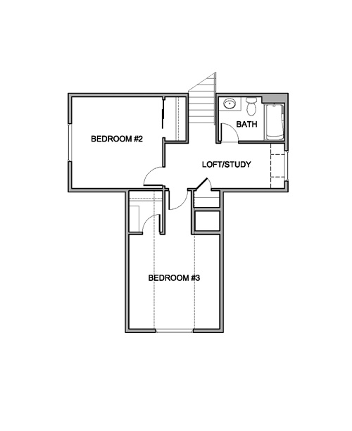 Brookdale Floor Plan By Brighton Homes 2nd Story