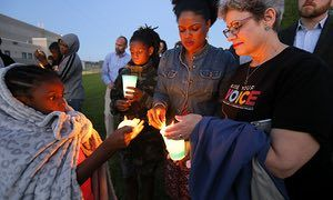 Texas town greets murder charge over teen shot by police in moving car   US news   The Guardian