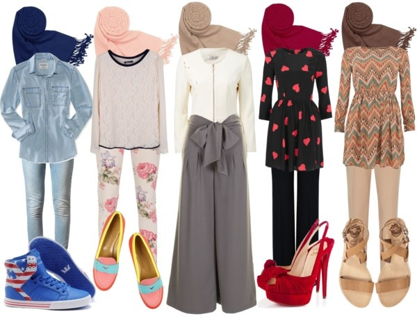 """Muslimah Fashion"" by azura-yusoff on Polyvore"