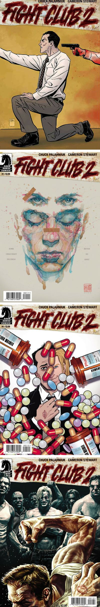 Fight Club 2 by Chuck Palahniuk & Cameron Stewart. Go back to the Space Monkeys and Project Mayhem, with Tyler, Marla, & Sebastian. Rize or Die.