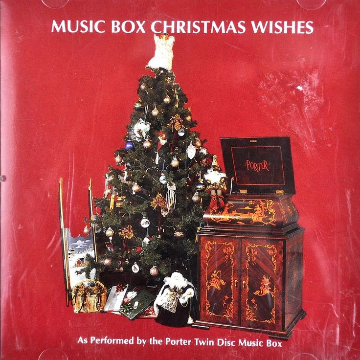 Music Box Christmas Wishes Cd Porter Twin Disc 18trks Instrumental Xmas PMBD 64 #Christmas #musicbox