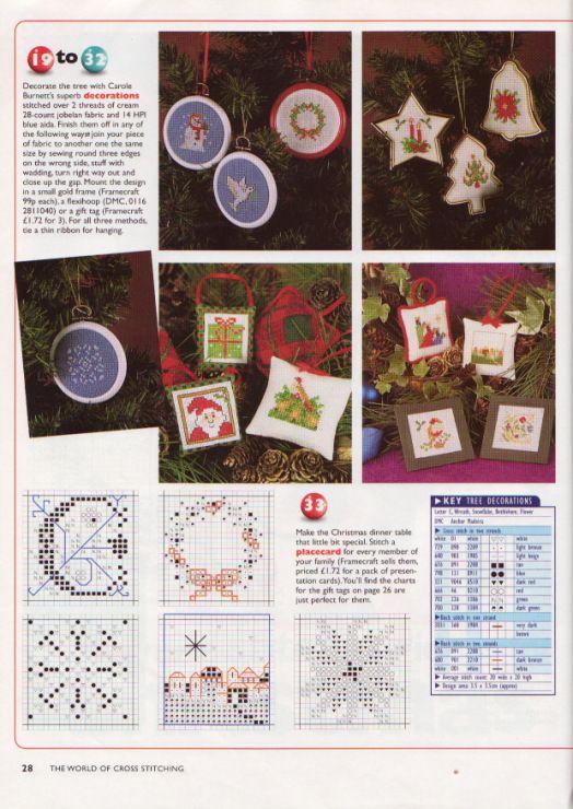 Gallery.ru / Фото #19 - The world of cross stitching 001 рождество 1997 - WhiteAngel