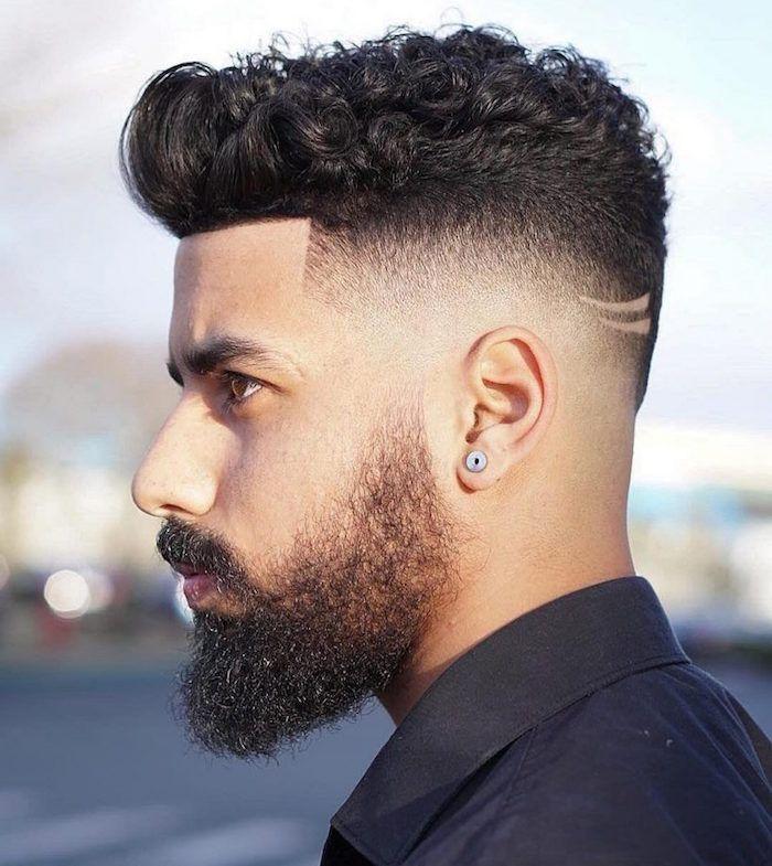 1001 Idees Cheveux Boucles Homme Notre Grain De Sel En Tuto Cheveux Masculins Coupe De Cheveux Coiffure Homme
