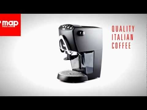 Coffee Machines: Map Coffee Presto Animation