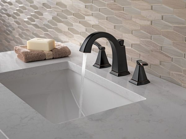 35768LF-OB - Two Handle Widespread Lavatory Faucet