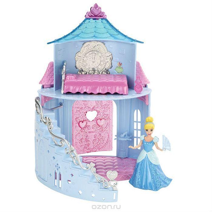 Disney Princess Дом для кукол MagiClip Замок Золушки