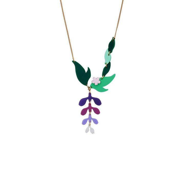 Tatty Devine Kimono Bloom Wisteria Necklace