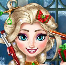 Elsa Yılbaşı Saç Modeli. Oyuncumuz ve mankenimiz Elsa yeni yıl için farklı bir saç tasarımı düşünüyor. Elsa Yılbaşı Saç Modeli için sizden gelecek fikirlerede açık olduğunu bildirme istediğinden Yılbaşı Saç Modeli oyununu sizinle paylaşıyor.
