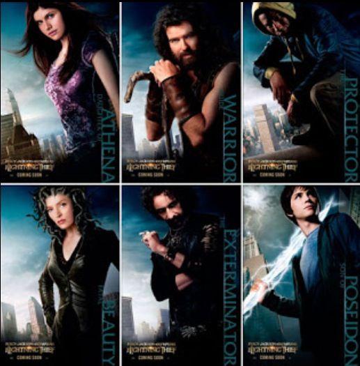 Percy Jackson Cast | Olympians have fallen.....into ...
