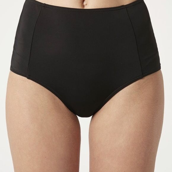 TODAY ONLY! Black high waisted swimsuit bottoms Fits like XS-Small small. Brand new with tags. Not aa but exactly like it in quality and feel. Amazing on. Anemone Swim Bikinis