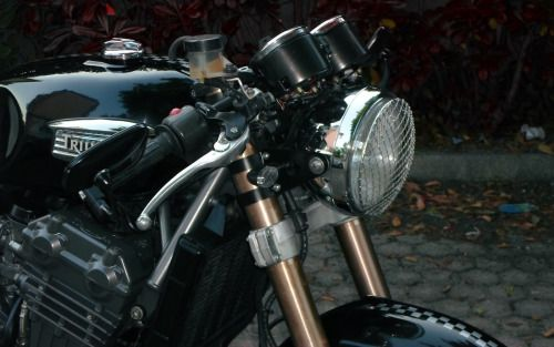Triumph Trophy 900 Cafe Racer by Antonio Mazzeo #motorcycles #caferacer #motos   caferacerpasion.com